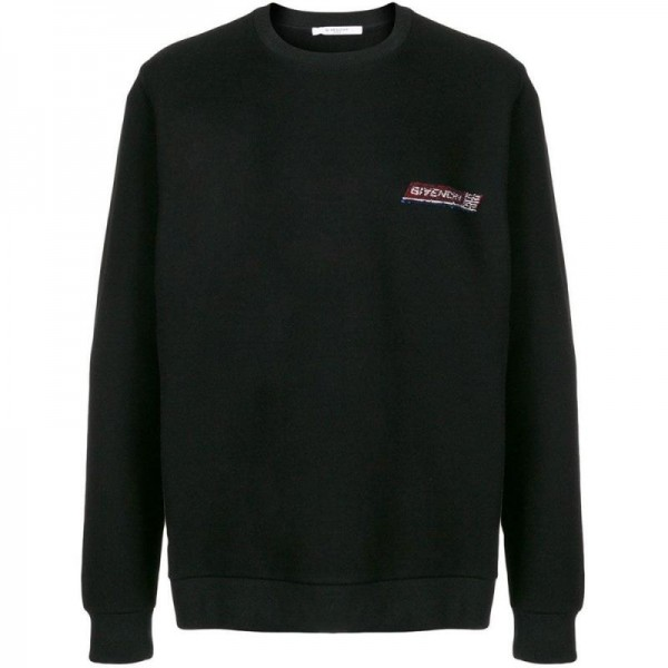 Givenchy Sequin Sweatshirt Siyah Erkek
