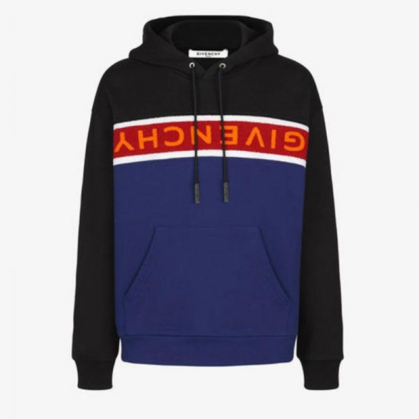 Givenchy Towelling Sweatshirt Siyah Erkek
