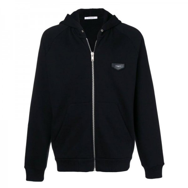 Givenchy Zip Polar Siyah Erkek