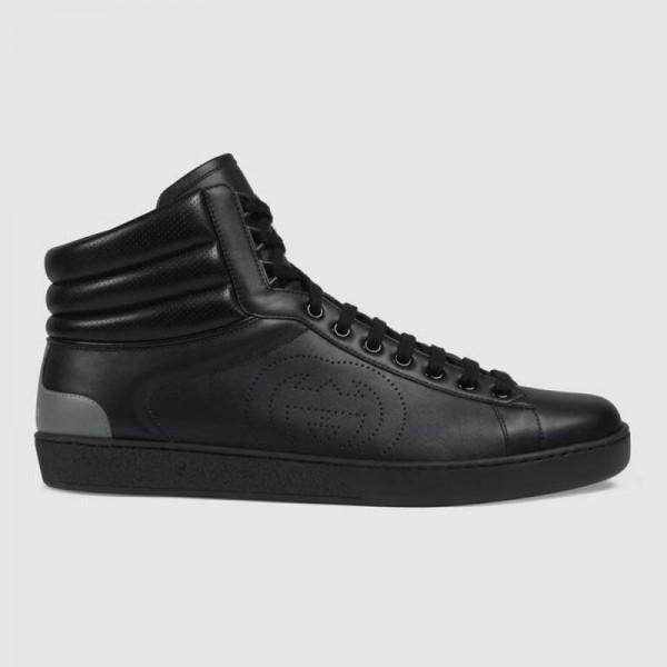 Gucci Ace Ayakkabı Erkek Siyah
