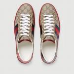 Gucci Ace Ayakkabı Kırmızı Erkek