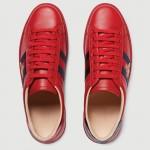 Gucci Ace Ayakkabı Kırmızı Kadın