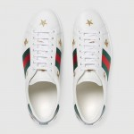 Gucci Ace Bee Ayakkabı Beyaz Erkek
