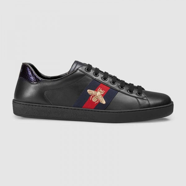 Gucci Ace Erkek Ayakkabı Siyah