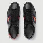Gucci Ace High Top Ayakkabı Siyah Erkek