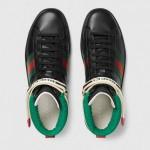 Gucci Ace Stripe Ayakkabı Siyah Erkek
