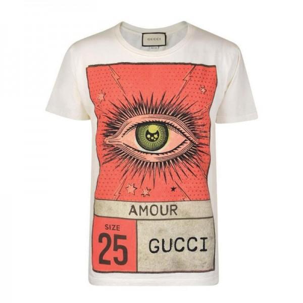 Gucci Amour Tişört Beyaz Erkek