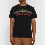 Gucci Boutique Tişört Erkek Siyah