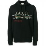 Gucci Capitan Sweatshirt Siyah Erkek