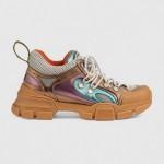 Gucci Flashtrek Ayakkabı Krem Kadın