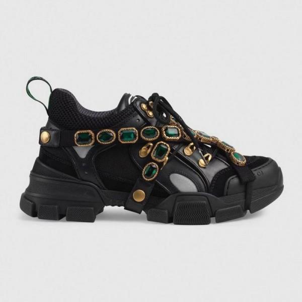 Gucci Flashtrek Ayakkabı Siyah Kadın