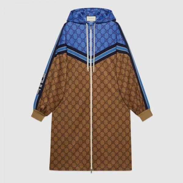Gucci Gg Technical Elbise Kadın Kahverengi