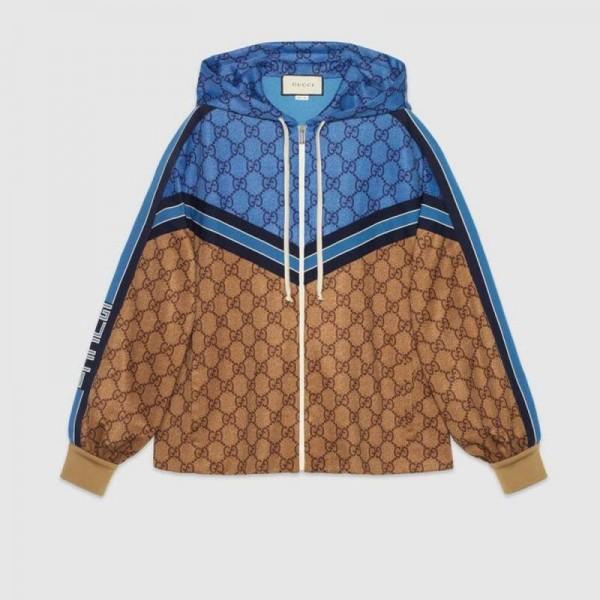 Gucci Gg Technical Polar Kadın Mavi