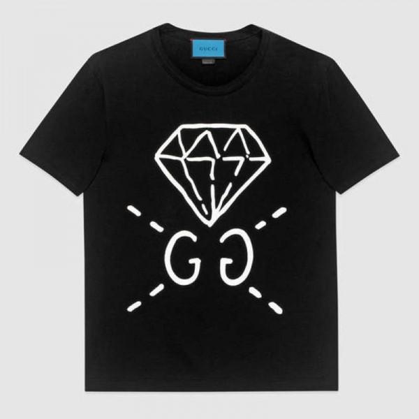Gucci Ghost Tişört Siyah Erkek