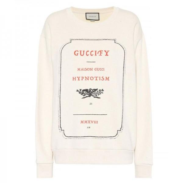 Gucci Guccify Sweatshirt Beyaz Kadın