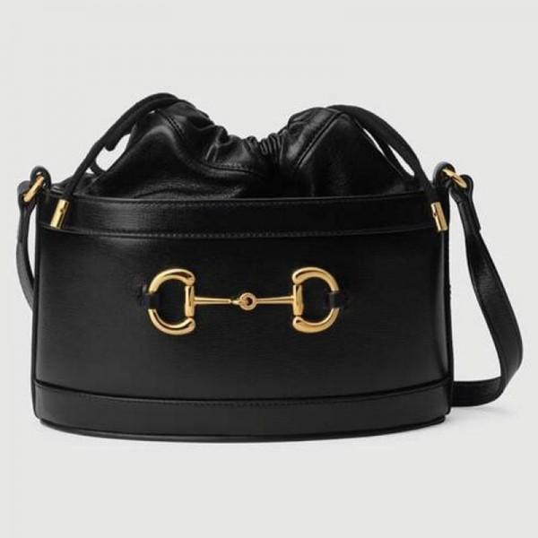 Gucci Horsebit Çanta Kadın Siyah