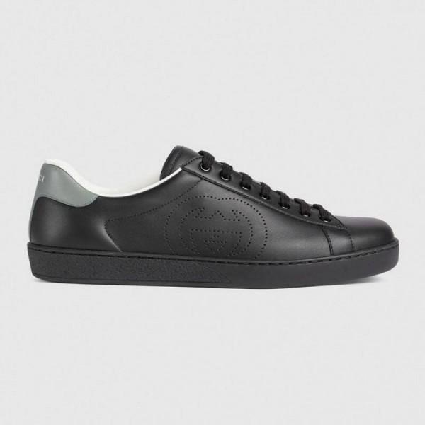 Gucci Interlocking Ayakkabı Erkek Siyah
