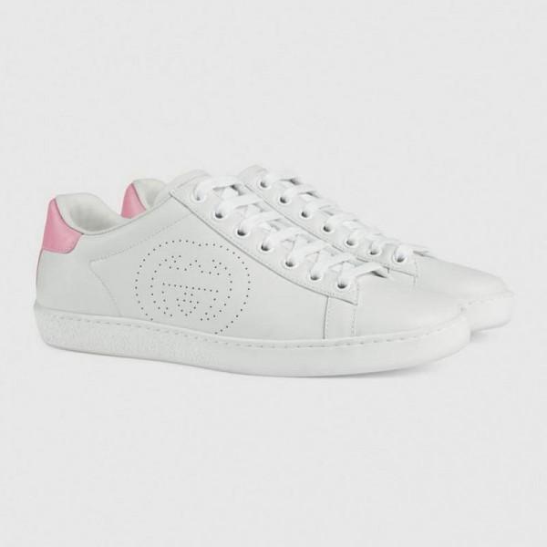Gucci Interlocking Ayakkabı Kadın Beyaz