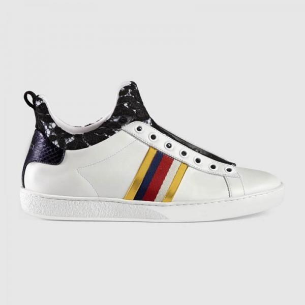 Gucci Leather Ayakkabı Beyaz Kadın