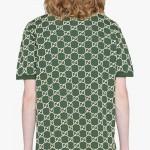 Gucci Logo Tişört Erkek Yeşil
