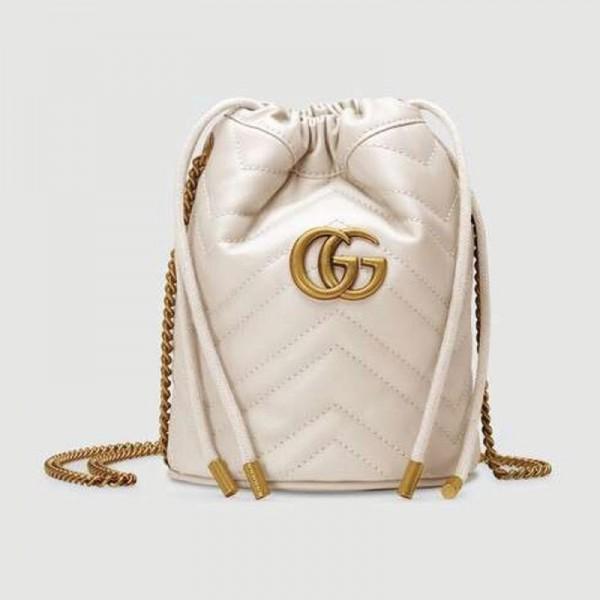 Gucci Marmont Çanta Kadın Beyaz