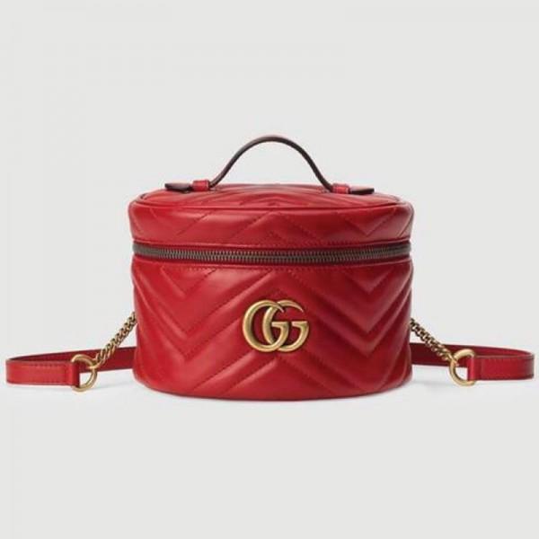Gucci Marmont Çanta Kadın Kırmızı