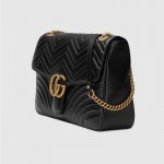 Gucci Marmont Large Çanta Siyah Kadın