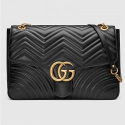 5763decd2b2af Gucci Marmont Large Çanta Siyah Kadın
