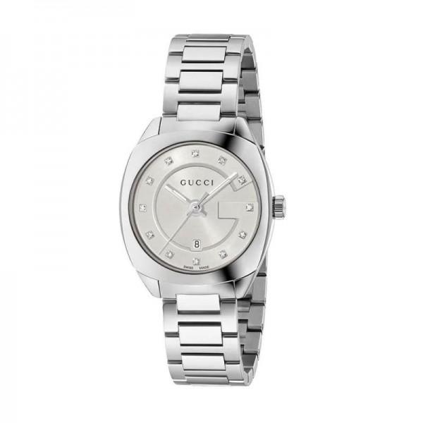 Gucci Montres Saat Gri Kadın