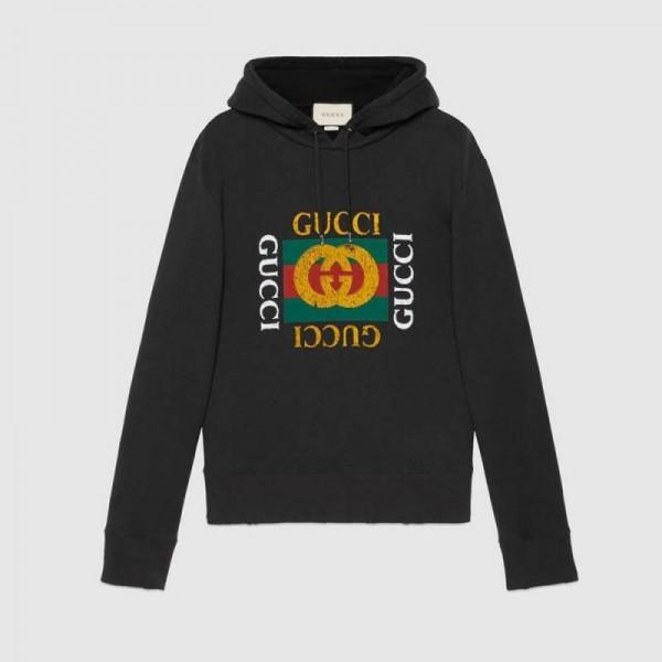 Gucci Oversized Sweatshirt Siyah