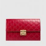 Gucci Padlock Çanta Kırmızı Kadın