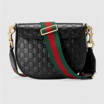 Gucci Padlock Çanta Siyah Kadın