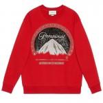 Gucci Paramount Sweatshirt Kadın Kırmızı