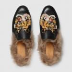 Gucci Princetown Ayakkabı Siyah Kadın