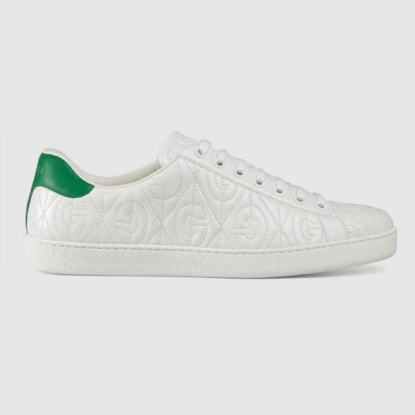 Gucci Rhombus Ayakkabı Erkek Beyaz