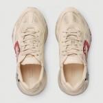 Gucci Rhyton Mouth Ayakkabı Kadın Beyaz