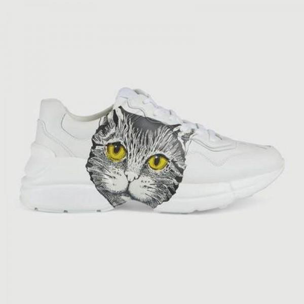 Gucci Rhyton Mystic Ayakkabı Kadın Beyaz