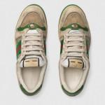 Gucci Screener Ayakkabı Erkek Bej
