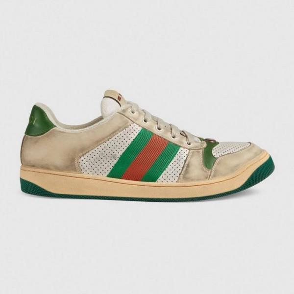 Gucci Screener Ayakkabı Erkek Beyaz
