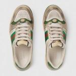 Gucci Screener Ayakkabı Kadın Bej