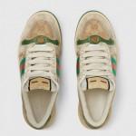 Gucci Screener Ayakkabı Kadın Beyaz