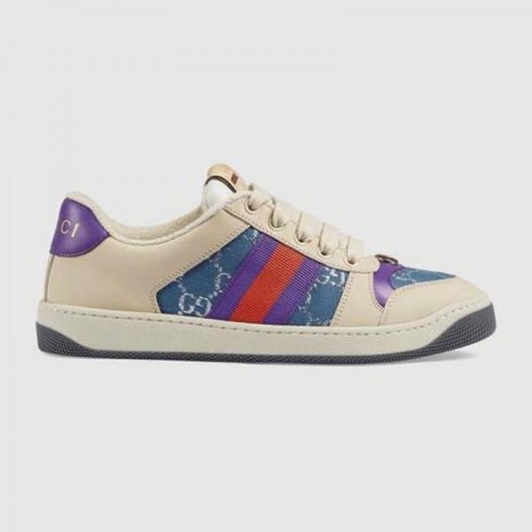 Gucci Screener Ayakkabı Kadın Mavi