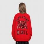 Gucci Sequin Sweatshirt Kadın Kırmızı