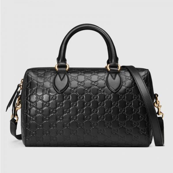 Gucci Signature Çanta Siyah Kadın