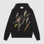 Gucci Stars Sweatshirt Siyah Kadın