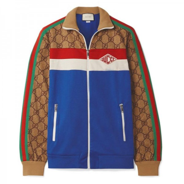 Gucci Technical Ceket Krem Kadın