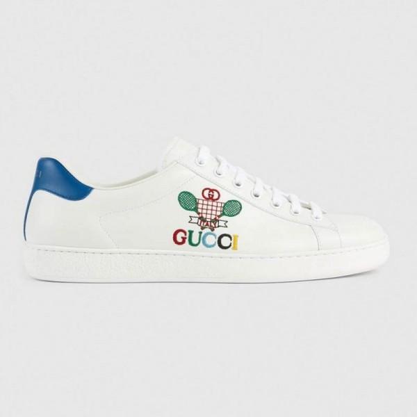 Gucci Tennis Ayakkabı Erkek Beyaz