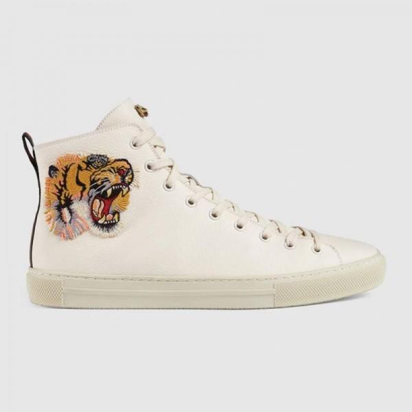 Gucci Tiger Ayakkabı Beyaz Erkek