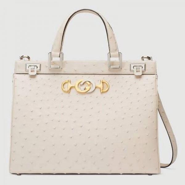 Gucci Zumi Çanta Kadın Beyaz