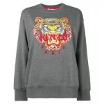 Kenzo Dragon Sweatshirt Gri Kadın